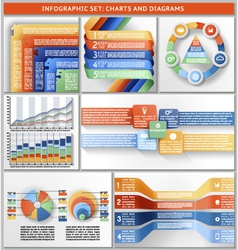 Infographic set vector