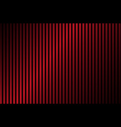 red and black lines abstract background vector image vector image