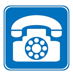 Phone allowing sign vector