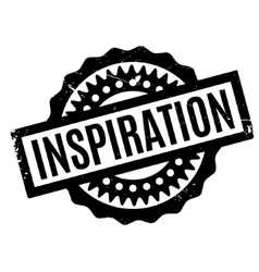 Inspiration rubber stamp vector