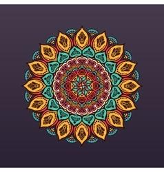 Mandala vintage decorative elements background vector