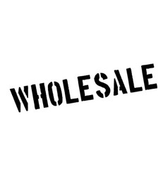 Wholesale rubber stamp vector
