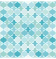 Abstract turquoise pattern vector