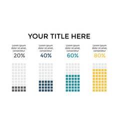 Infographic diagram chart graph vector
