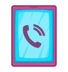 Ipad icon cartoon style vector
