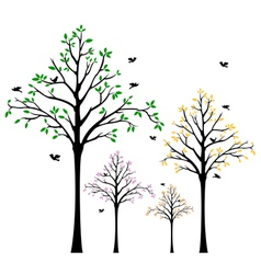 Tree Wall Decal vector image
