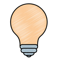 Light bulb place vector