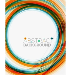 Bright colorful line abstract background vector