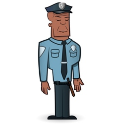 Police officer vector
