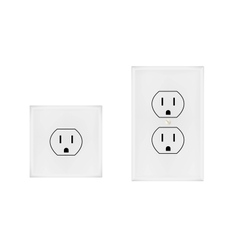 American electrical outlet vector