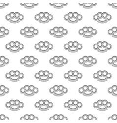 Knuckles seamless pattern vector