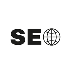 The seo icon www and browser development symbol vector