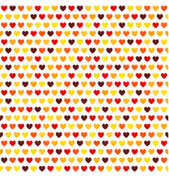 Heart pattern seamless love background vector