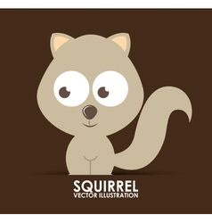 Squirrel design vector