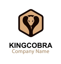 King cobra design vector