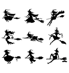 witchs set vector image