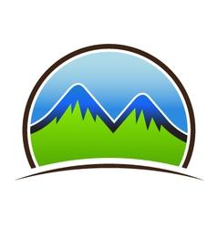 Mountain Seal vector image