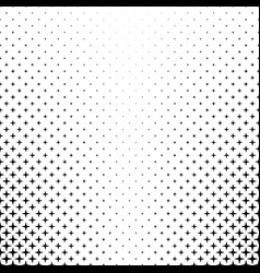 Monochrome star pattern - background graphic from vector