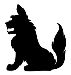 Furry monster vector