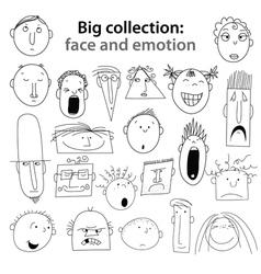 Human emotions vector