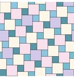 pastel tiles seamless pattern vector image