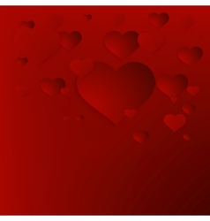 Valentines Day abstract background EPS10 vector image vector image
