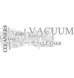What s up with these flashy vacuum cleaners text vector