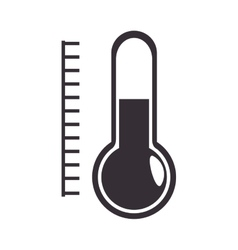 Thermometer with scale vector