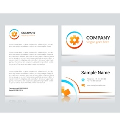 Medical business cards vector