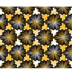 Colorful ornamental pattern seamless art vector