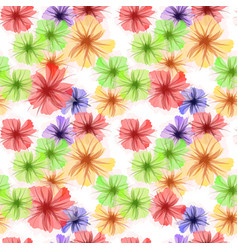 Colorful petunia flowers background vector