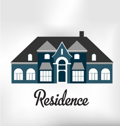 Residence vector image vector image