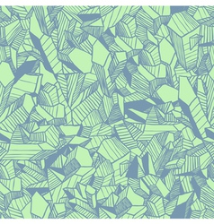 Seamless pattern with crystals vector