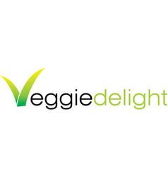 Veggie delight vector