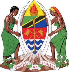 Tanzania vector image