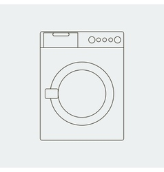 Washing machine path vector