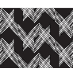 Black geo pattern10 vector