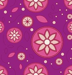 Lotus floral pattern vector