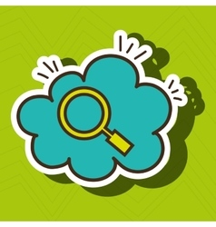 Search cloud find tool vector