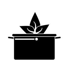 Vegetarian food organic diet pictogram vector