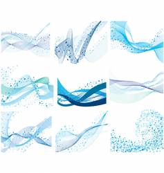 water backgrounds vector image