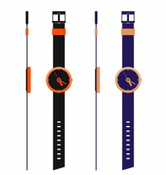 watch templates vector image