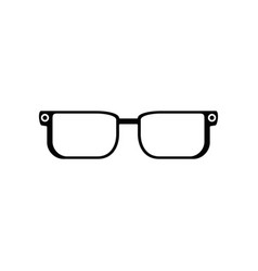 glasses pair object vector image
