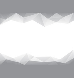 Background abstract polygon design vector