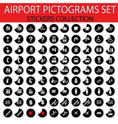 Airport pictogram vector