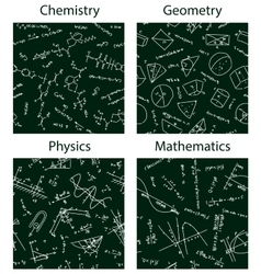 school patterns vector image