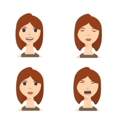 Different Emotions vector image