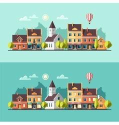 Urban landscape cityscape vector