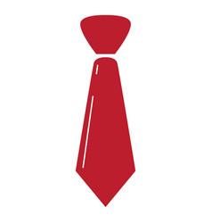 Isolated necktie icon vector