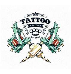 Tattoo Print 3 vector image